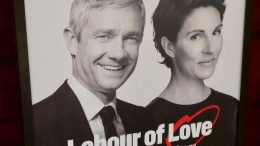 "Teaterplakat av ""Labour of Love"""