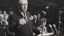 Harold Macmillan, britisk statsminister, EU