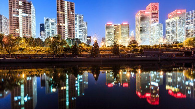 Beijing skyline foto