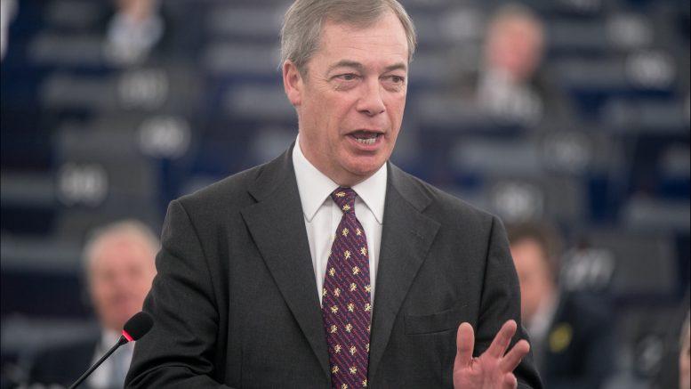 Nigel Farage, portrett, foto