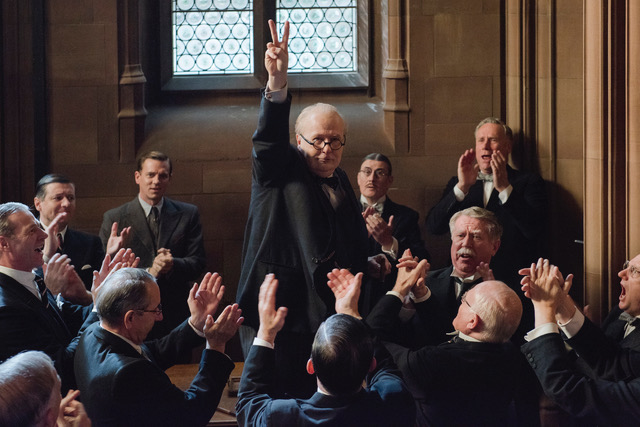 Gary Oldman som Winston Churchill. foto