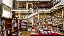 Foto bibliotek, intertiør