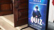 Plakat The Quiz - teater - foto