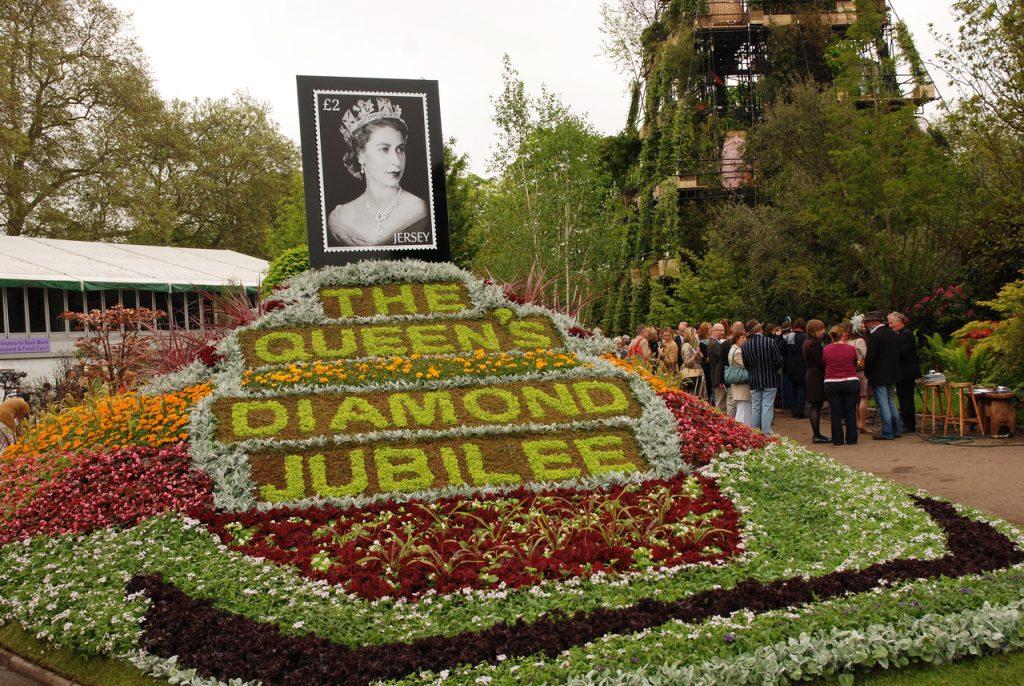 Showhage dronningen jubileet 2012 Chelsea Flower Show foto