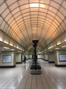 Gants Hill tube station London Foto