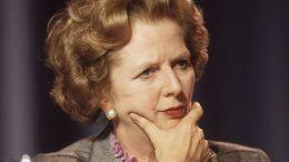 Margaret Thatcher. Foto