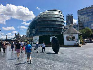 Londons rådhus. Foto.