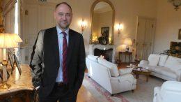 Richard Wood, britisk ambassadør i Norge. Foto.