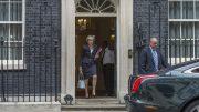Theresa May i Downing Street. Foto