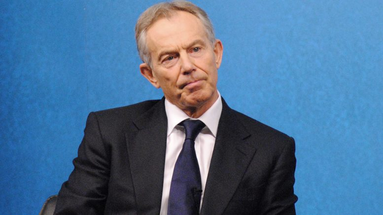 Tony Blair foto