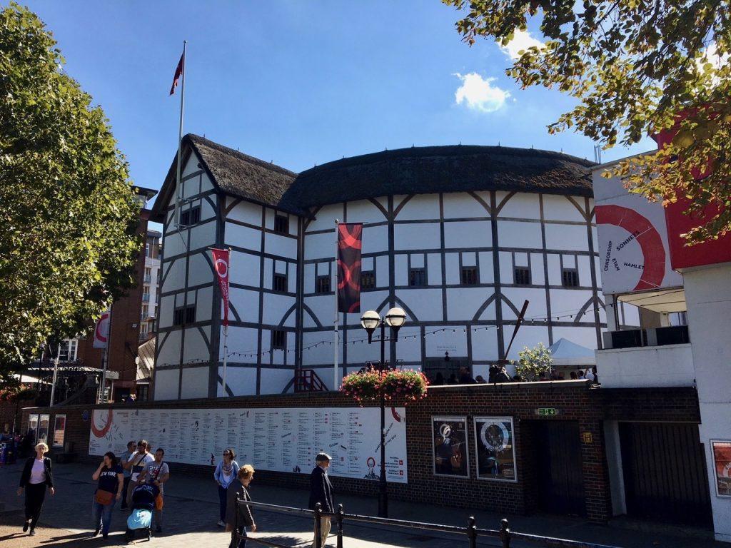 Globe-teatret i London. Foto
