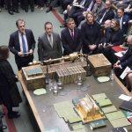 Avstemning i Underhuset foto