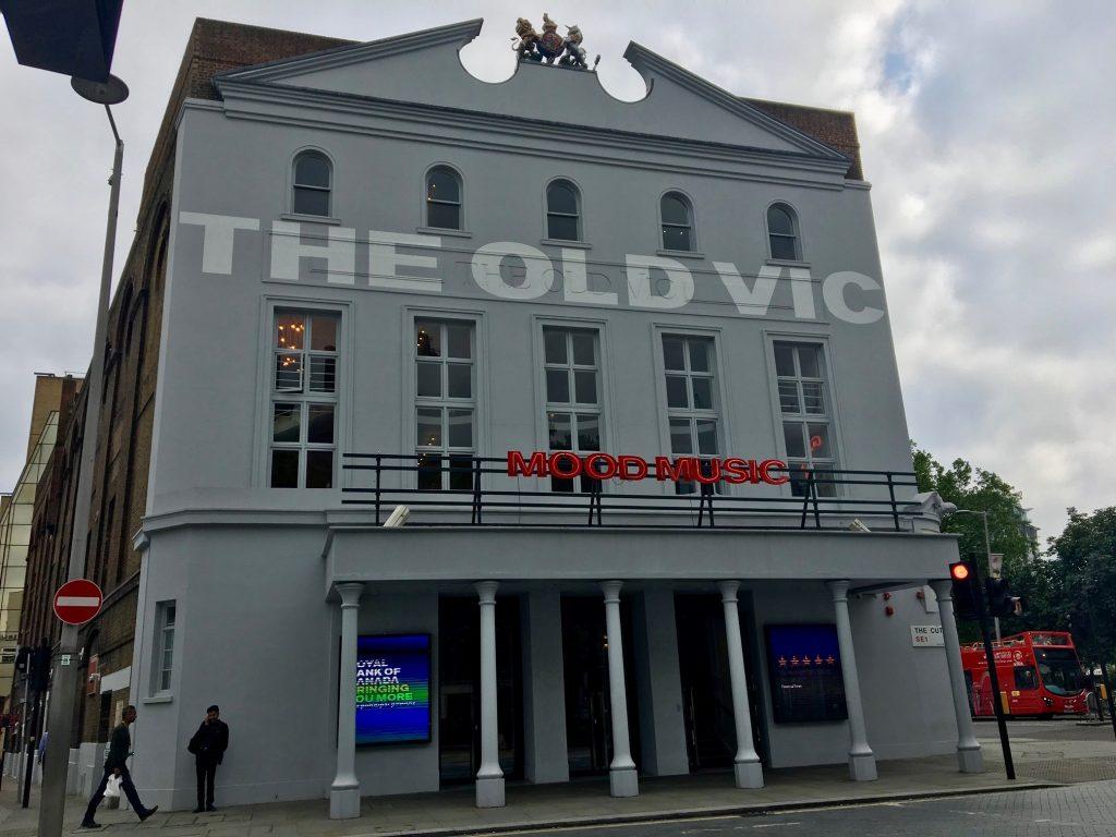 Eksteriør Old Vic-teatret i London. Foto