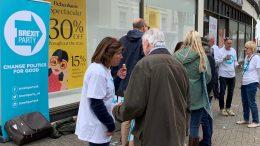 Valgkamp Brexit Party i Eastbourne. Foto