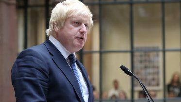 Foto av Boris Johnson mens han var utenriksminister