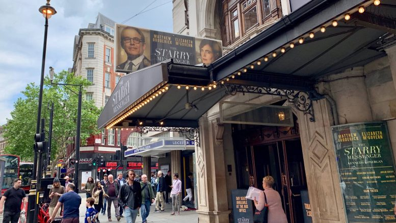 Teaterskilt London Bilde