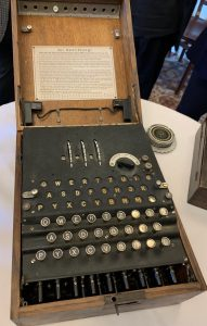 Enigma-maskin. Foto