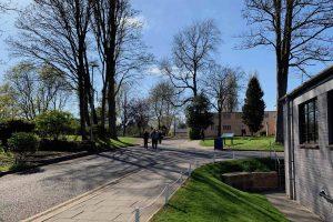 Bletchley Park. Ute. Foto