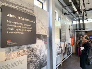Utstilling om D-dagen Bletchley Park. Foto