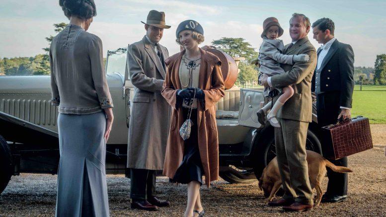 Scene fra Downton Abbey-filmen, foto