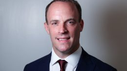 Portrett av utenriksminister Dominic Raab Foto