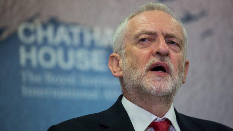 Portrett av Labour-leder Jeremy Corbyn.