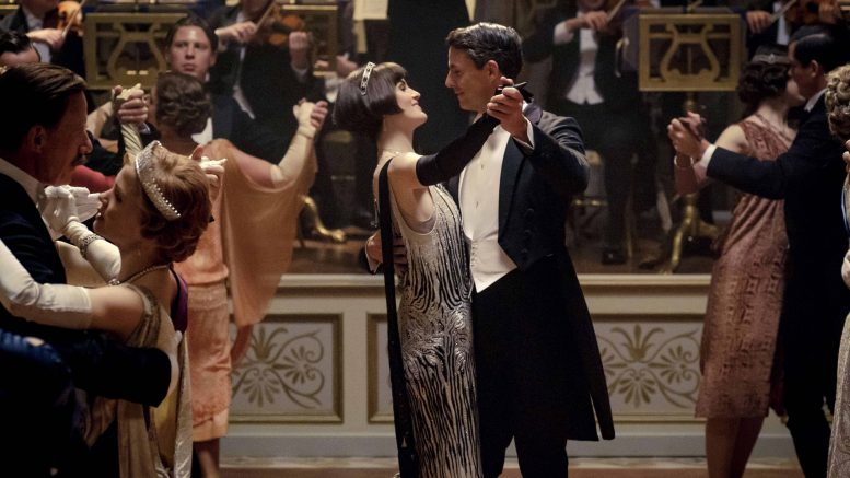 Scene fra Downton Abbey- ball Foto
