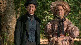 """Suranne Jones og Sophie Rundle i en scene fra """"Gentleman Jack"""" foto"""