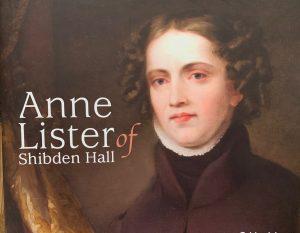 Maleri Anne Lister forside brosjyre. Foto