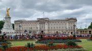 Ekstriørbilde Buckingham Palace. Foto