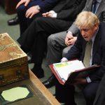 Boris Johnson i Parlamentet