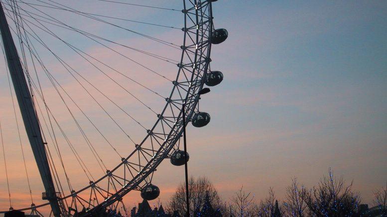 London Eye. foto