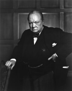 Winston Churchill fotografert 1941