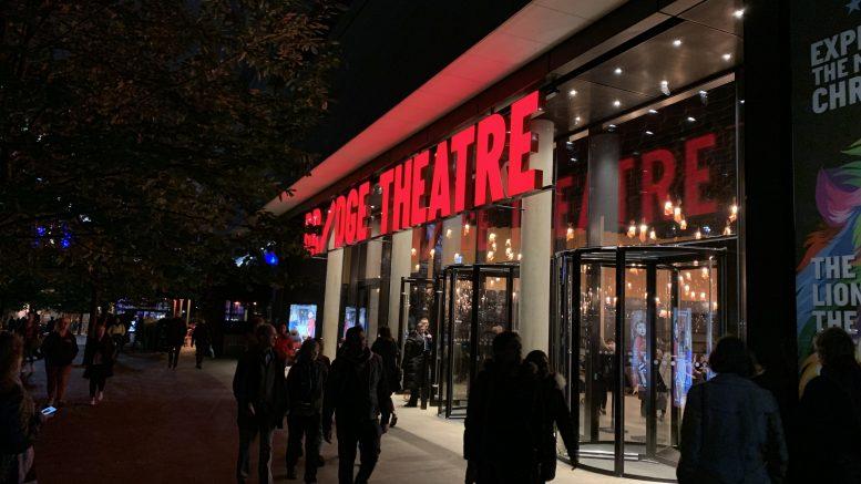 Eksteriørbilde av Bridge Theatre. Foto