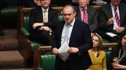 Liberaldemokratenes ny leder Ed Davey i Underhuset
