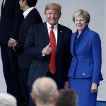 Donald Trump fotografert i 2018 sammen med Donald Trump