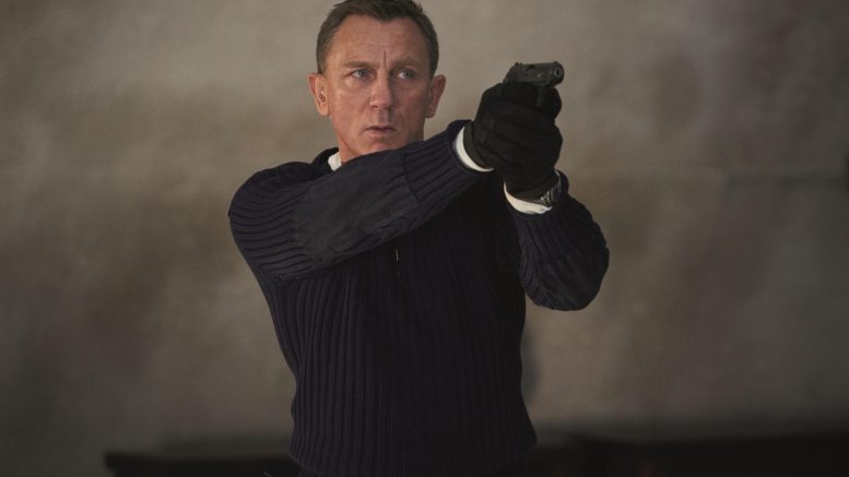 Daniel Craig som James Bond. Rollebilde fra No Time to Die Foto