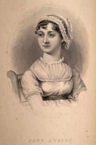 Jane Austen tegnet av søsteren Cassandra.