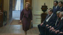 Gillian Anderson som Margaret Thatcher