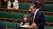 Keir Starmer taler i Underhuset