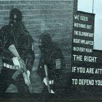 Veggmaleri i Belfast Foto