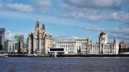 Havna i Liverpool. Foto