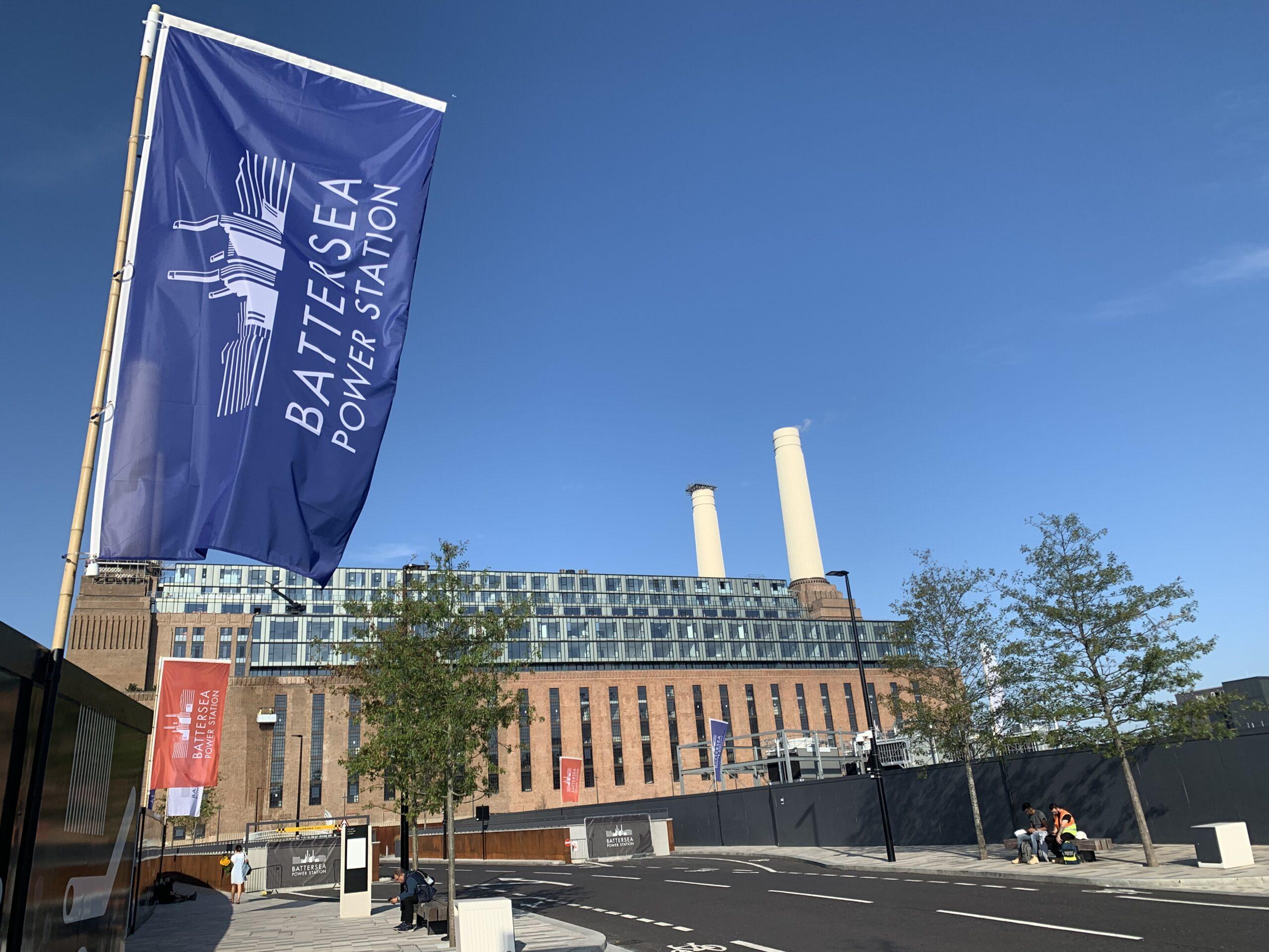 Battersea Power Station eksteriørbilde.Foto
