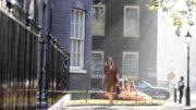 Liz Truss ankommer Downing Street 10