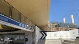 Battersea Tube station inngang- foto