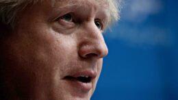 Boris Johnson portrett